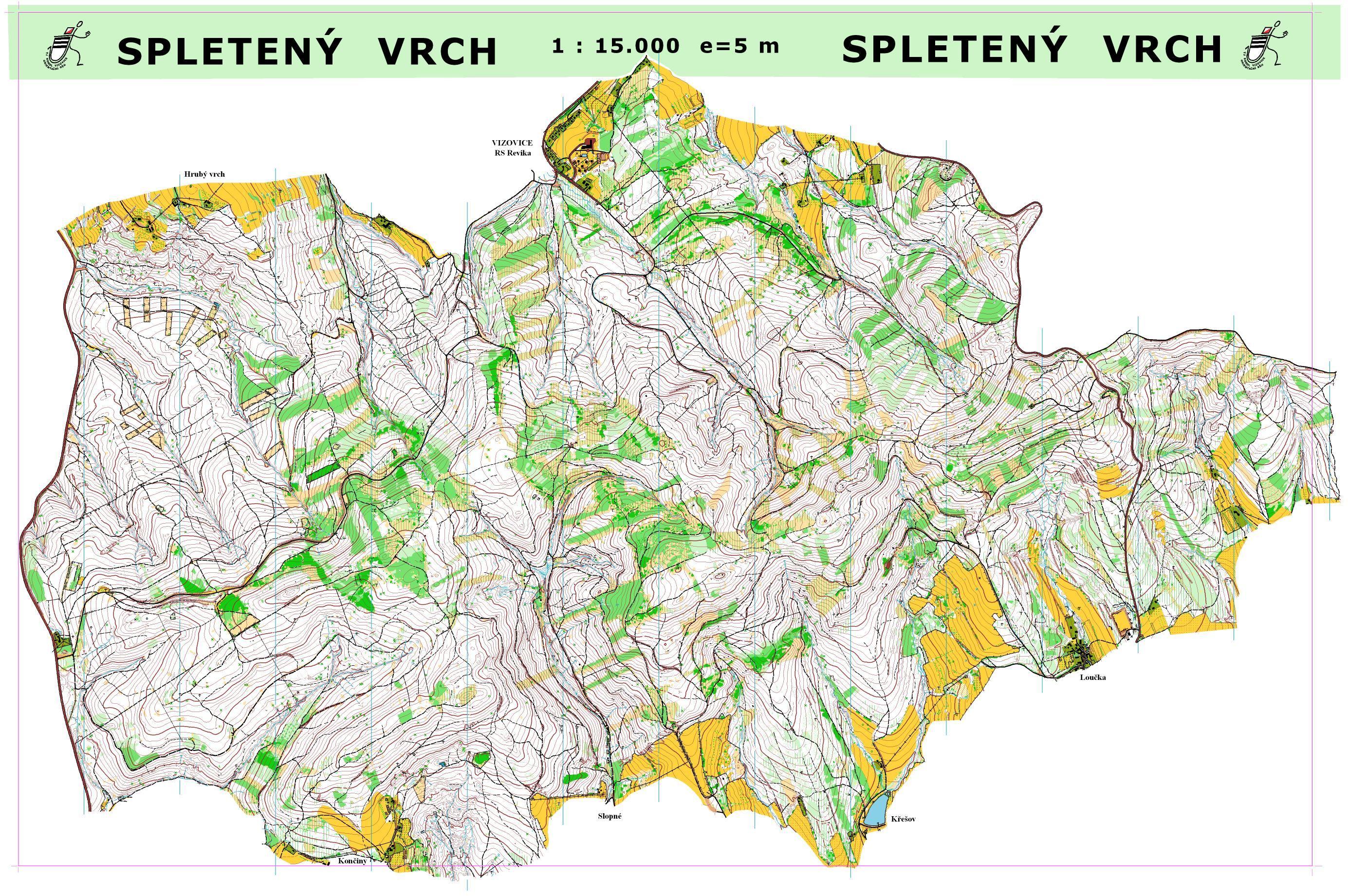 World Orienteering Championships 2008: Maps